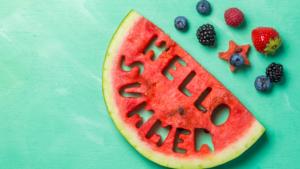 ilustrační obrázek - letní ovoce