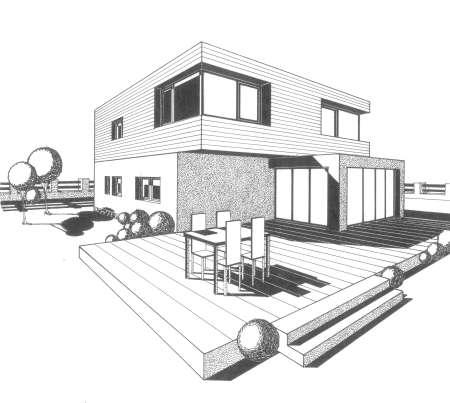 Perspektiva - rodinný dům