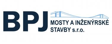 logo firmy BPJ mosty a inženýrské stavby